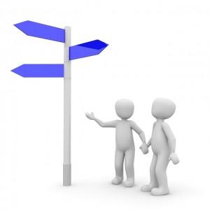 Samen bepalen we de richting...